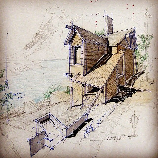 Architecture Drawing Images