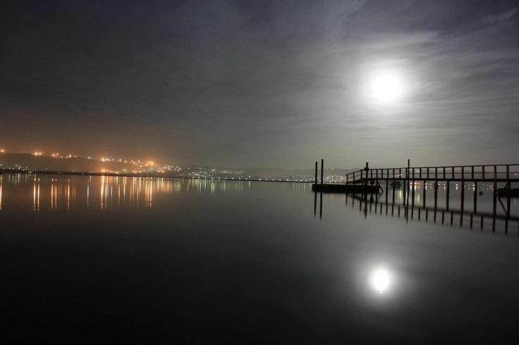 Knysna at night