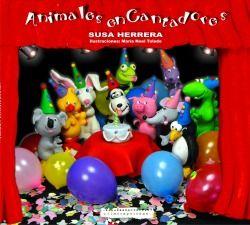 """""""ANIMAIS ENCANTADORES""""  é un ambicioso proxecto musical infantil composto dun libro con dez simpáticos personaxes, representados con ilustraciones a todo cor, no que se  inclúen  letras e partituras das cancións, así como unha guía de propostas didácticas que farán disfrutar a nenos e nenas. O libro complétase cun CD coa interpretación das dez canción que protagonizan os personaxes do libro, un karaoke e un DVD."""