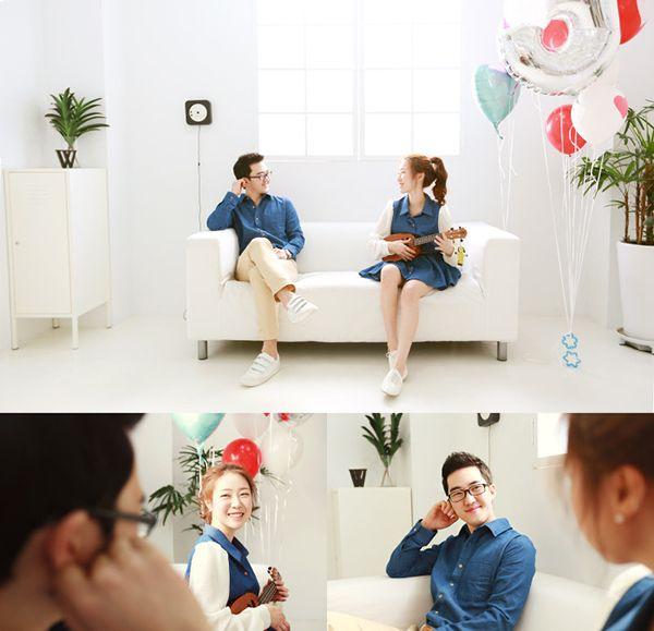 Couple photo by. wooubi studio 커플 사진 _우유비 스튜디오