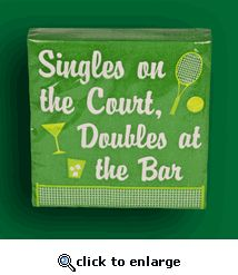 I LOVE these cocktail napkins!  CUTE!