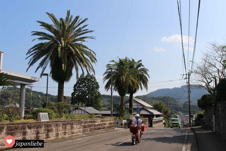 Unterwegs in Miyazaki: Palmen und Postboten