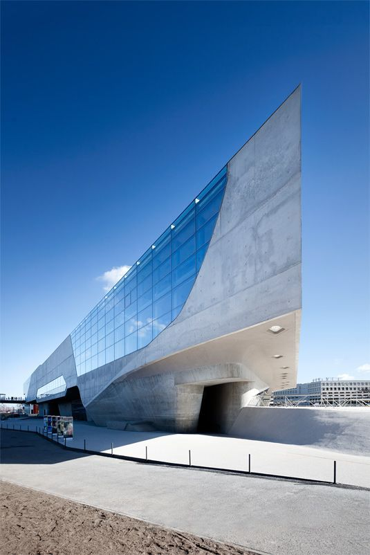 PHAENO SCIENCE CENTER by Zaha Hadid.