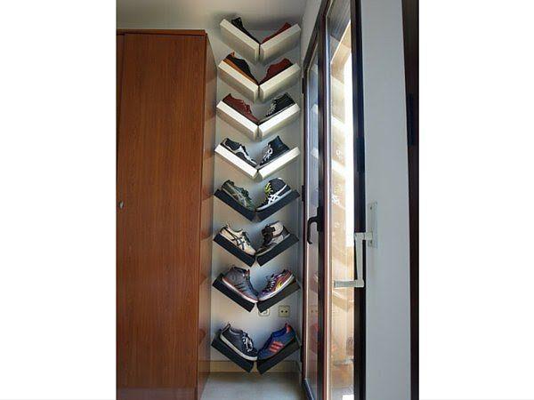 les 25 meilleures id es de la cat gorie range chaussures. Black Bedroom Furniture Sets. Home Design Ideas