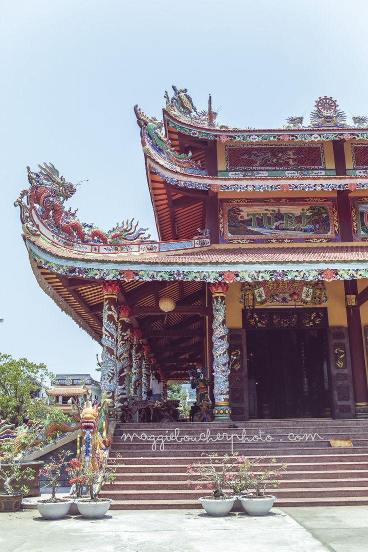 Temple, Danang, Vietnam.  http://www.maggieboucherphoto.com