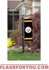 "Steelers Post Banner 30"" x 11"""
