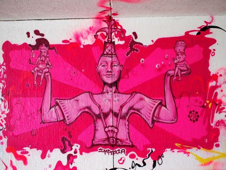 Street art Constance/ konstanz: Imperia