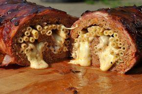 Mac and Cheese Bacon Bomb mit Makkaroni-Füllung | BBQPit.de