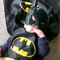 Little Boy Batman Costume