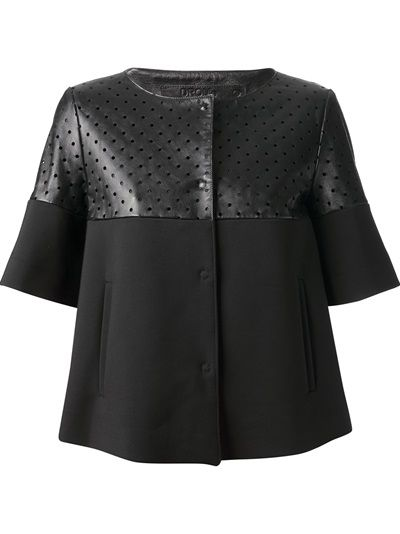 Drome Perforated Short Sleeve Jacket