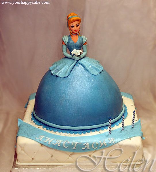 Cinderella Birthday Cakes Pinterest