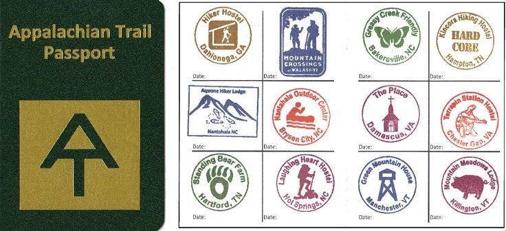 AT Passport - Home Page - The new Appalachian Trail passport :)