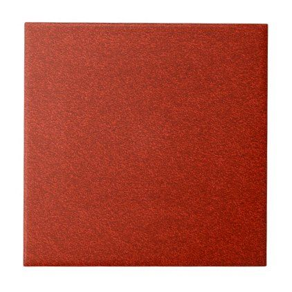 Red Glitter Tile - glitter glamour brilliance sparkle design idea diy elegant