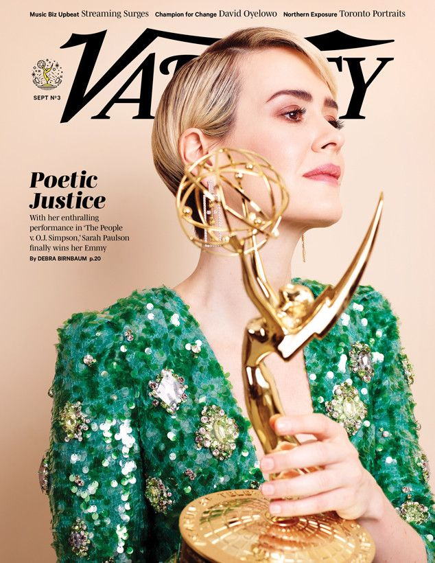 Sarah Paulson: This Is How It Feels to Finally Win an Emmy