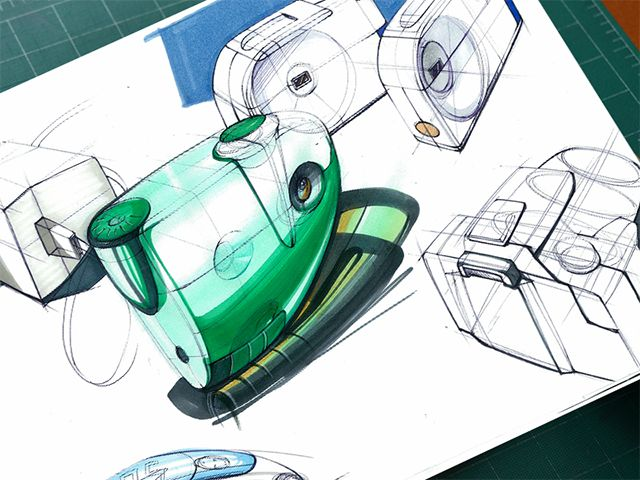Industrial design sketching on Behance