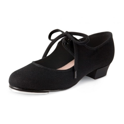 Bloch Marylin tie-up LadiesTap Shoes  The Marylin tie-up tap shoe is an excellent fitting tap shoe perfect for students. A stylish shoe with Bloch's own developed toe spring to give a maximum sound with the toe tap.  Width : M  Price: 21.10€