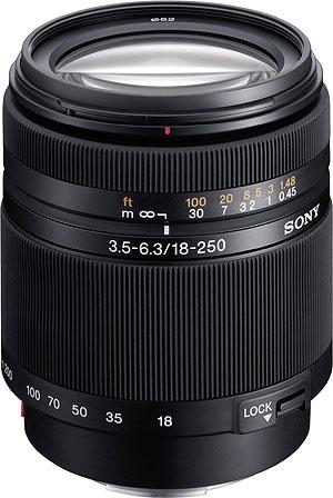 18-250mm 3.5-5.6 Sony Lens