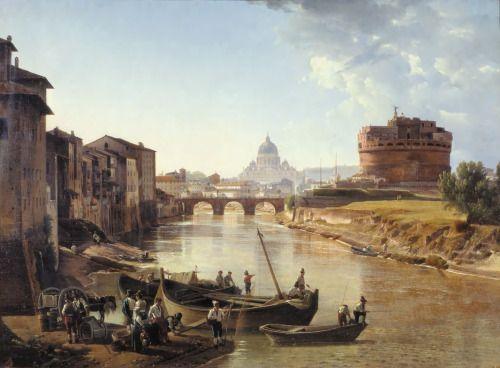 Castel Sant'Angelo -Sylvester Shchedrin 1823