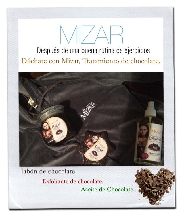 """Mizar, tratamiento de chocolate."" by mizar-organic on Polyvore"