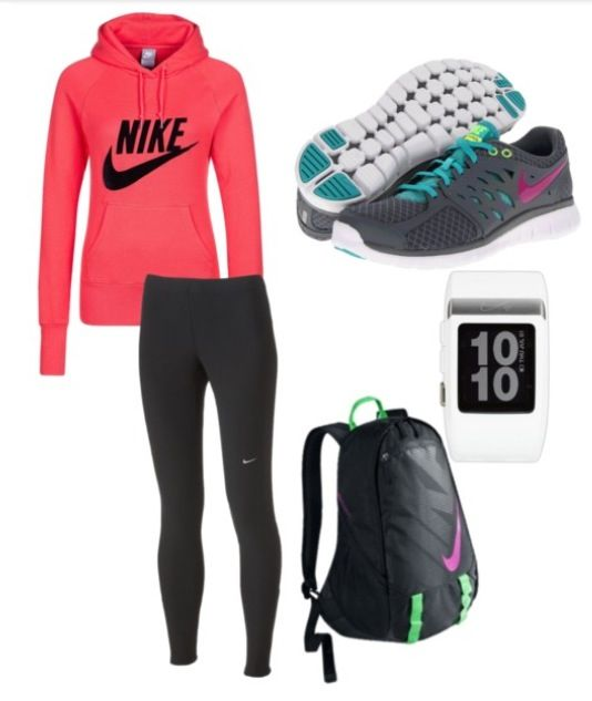 Nike Athletic outfit. I want this!