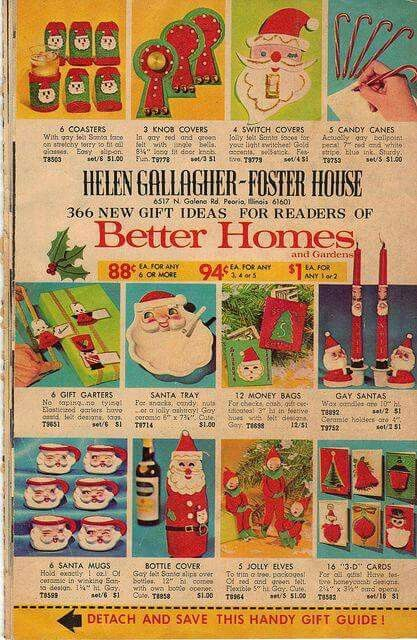 Vintage Christmas ad in Better Homes