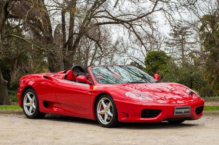 2003 Ferrari 360 Spider Manual.