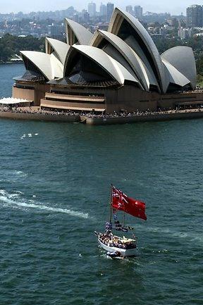 Sydney Harbour - Australia Day