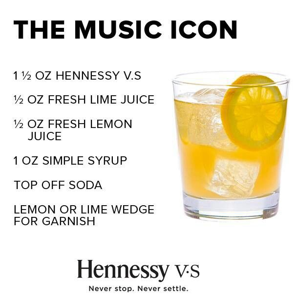 17 best images about hennessy on pinterest getting cozy for Tea and liquor recipes