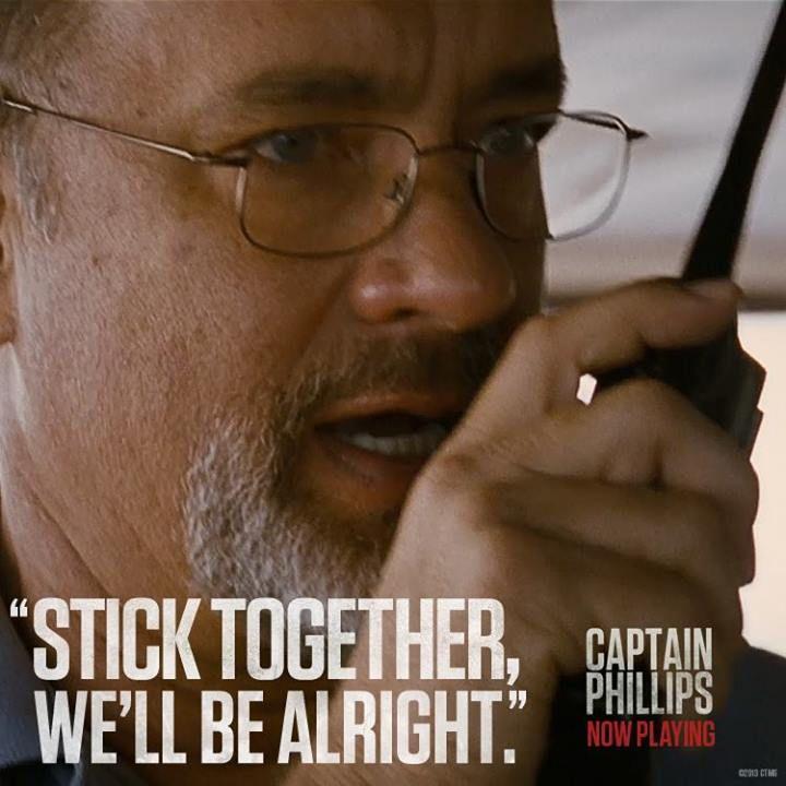 Famous Tom Hanks Movie Quotes: Captain Phillips Movie Quote