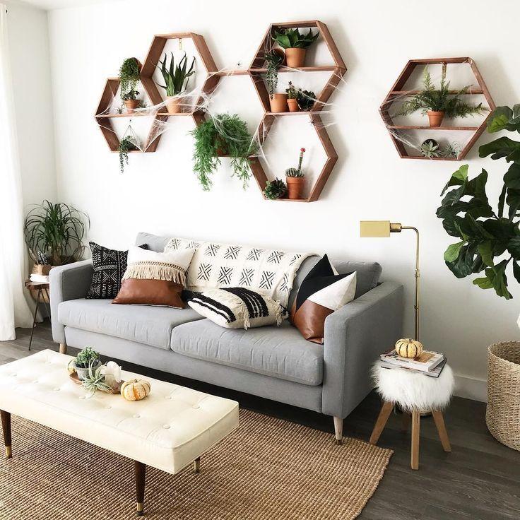 Vintage/boho living room