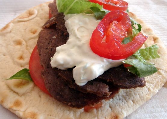 how to make greek gyros at home