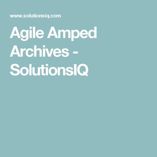 Agile Amped Archives - SolutionsIQ
