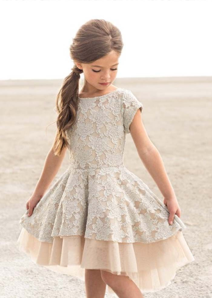 bf2dfd916910 35 Unbelievably Cute Flower Girl Dresses for a Spring Wedding | Wedding!!!  | Cute flower girl dresses, Flower girl dresses, Kids outfits