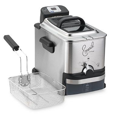 Calphalon Coffee Maker Bed Bath And Beyond : Emerilware Electric Fryer - BedBathandBeyond.com (got it!) Kitchen Pinterest Products ...