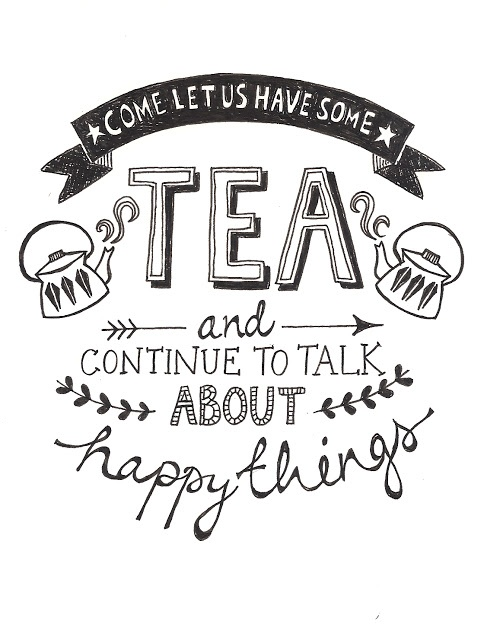 Let us have some tea. (yes, let's)