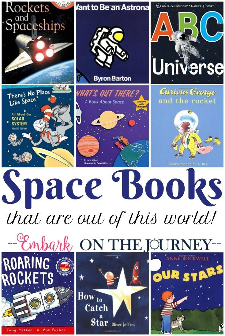 Fill your bookshelves with books about space, planets, astronauts, and more. Inspire your kids to get outside and