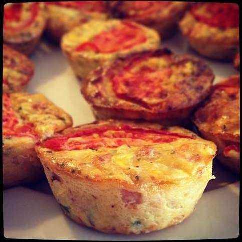 Recipe Mini Muffin Quiches by Skinnymixer - Recipe of category Baking - savoury