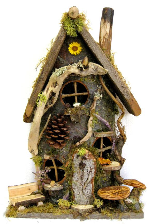 Fantastic Fairy Houses and Gnome Homes for Your Garden