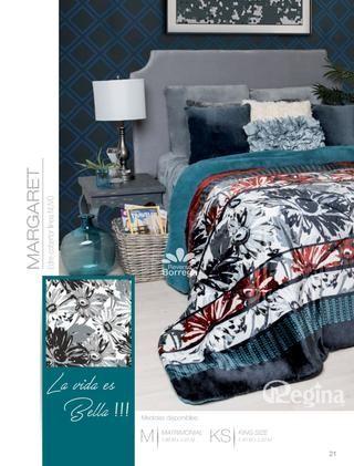 Catalogo Cobertores Regina Invierno 2017-18 Colchas Lupita by Colchas edredones y blancos Lupita - issuu