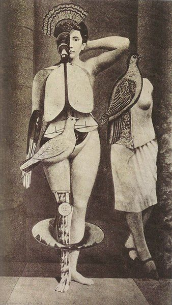 Sacred Conversation, Max Ernst 1921