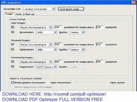 DOWNLOAD PDF Optimizer FULL VERSION FREE