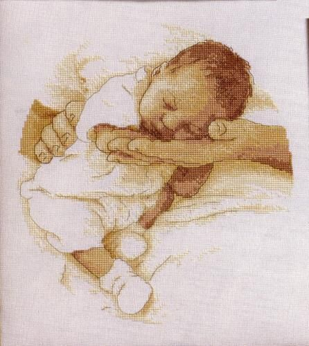 O nascimento do bebê.  Amor e ternura.