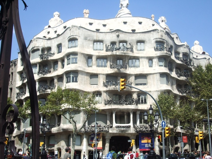 Gotta love Goudi, Barcelona