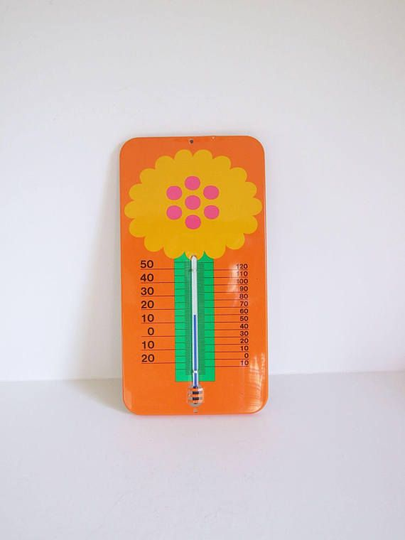 Laurids Lonborg Denmark Wall Thermometer // Lena and Al Eklund