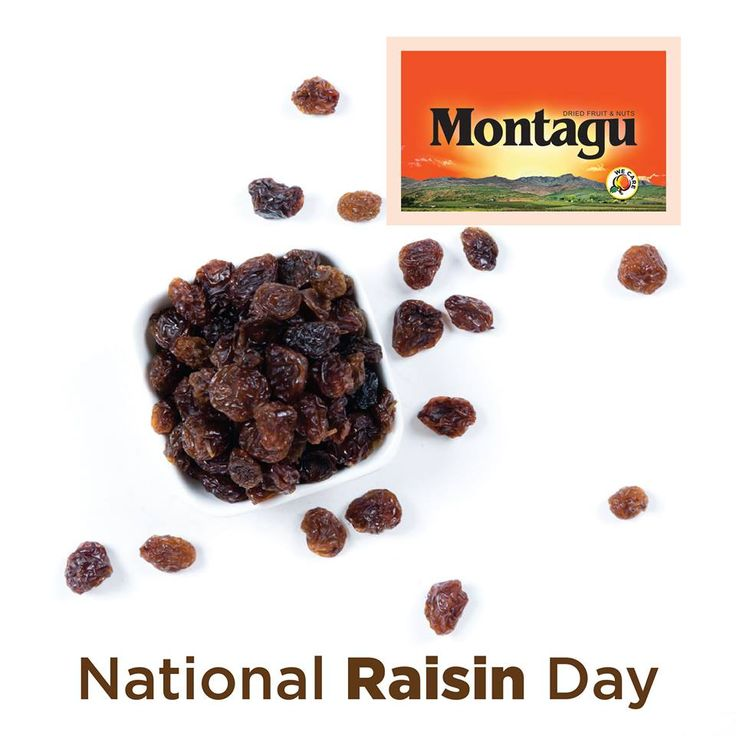 We love raisins! They're the perfect energy-boosting snack and their health benefits are endless.  - They ease constipation - They help reduce hypertension - They help treat anaemia - They support good eyesight  Get yours in store today!