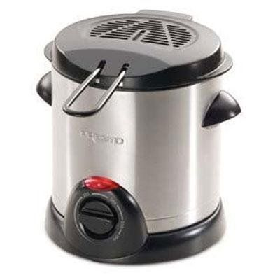 Presto 05470 Stainless Steel Electric Deep Fryer. Fry delicious deep fried foods, fast and easy, in this space-saving deep fryer.
