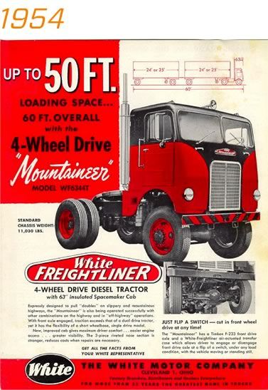 Freightliner Trucks: 70 Years of Innovation....year bro Dave was born...