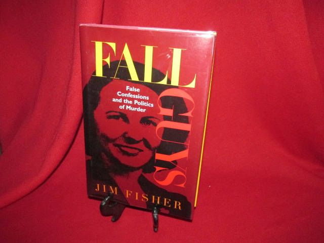 """Jim Fisher's """"Fall Guys: False Confessions and the Politics of Murder"""" by TheBookE on Etsy"""