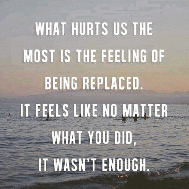 Quotes About Being Sad And Hurt: Being Replaced Love Quotes Quotes Quote Sad Hurt Sadness