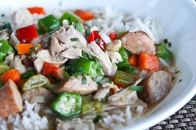 Leftover Turkey Recipe: Turkey Gumbo | Steamy Kitchen Recipes Thanksgiving leftover recipes ROCK
